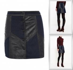 Джинсовые юбки, юбка джинсовая urban bliss, осень-зима 2016/2017