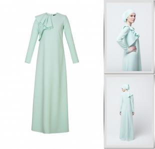 Бирюзовые платья, платье bella kareema,