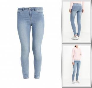 Голубые джинсы, джинсы vero moda, весна-лето 2016