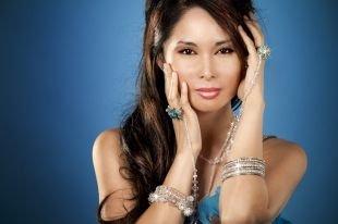 Азиатский макияж, нежный восточный макияж