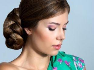 Свадебный макияж для серо-голубых глаз, свежий весенний макияж для шатенок