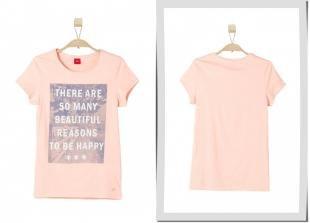 Розовые футболки, футболка s.oliver, весна-лето 2016