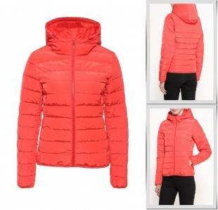 Красные куртки, куртка утепленная jacqueline de yong, осень-зима 2016/2017
