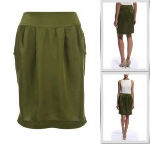 Зеленые юбки, юбка love & light, осень-зима 2016/2017