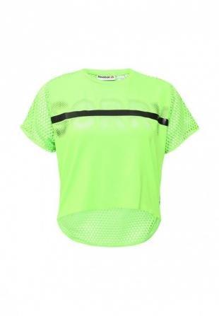 Зеленые футболки, футболка спортивная reebok, весна-лето 2016