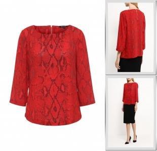 Красные блузки, блуза top secret, осень-зима 2016/2017