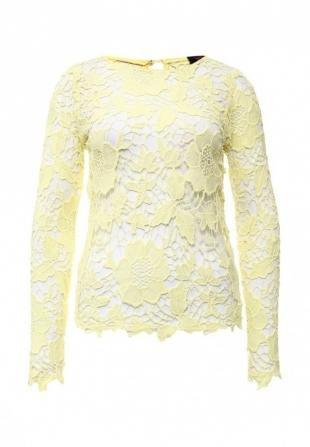 Желтые блузки, блуза edge clothing, весна-лето 2016