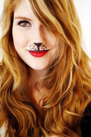 Макияж кошки на хэллоуин, макияж на хэллоуин в школу