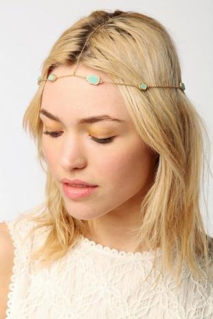Легкий макияж для зеленых глаз, оригинальные аксессуары для волос