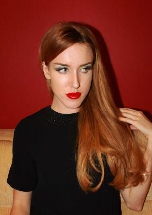 Макияж для больших зеленых глаз, макияж на дискотеку для рыжих