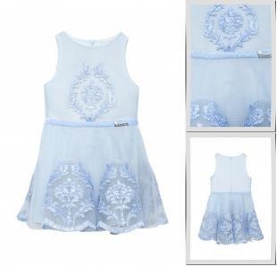 Голубые платья, платье choupette, осень-зима 2016/2017