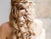 Свадебные прически на длинные волосы, фото 1