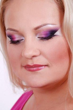 Авангардный макияж, макияж для квадратного лица