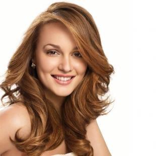 Светло коричневый цвет волос, рыже-каштановый цвет волос