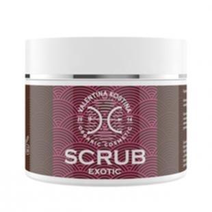 Скраб для сухой кожи, valentina kostina оживляющий скраб organic cosmetic exotic scrub (объем 500 мл)