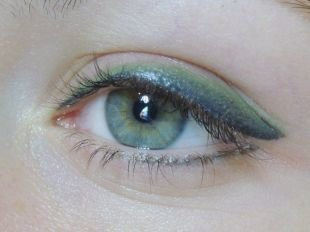 Татуаж глаз, татуаж глаз - голубые тени для голубоглазых