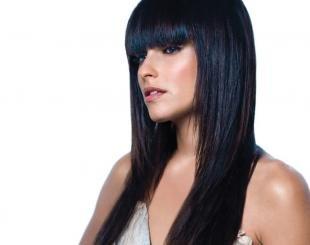 Иссиня-черный цвет волос, черный цвет волос