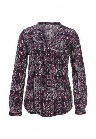 Фиолетовые блузки, блуза mim, осень-зима 2016/2017