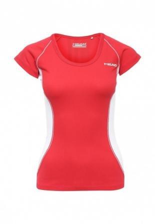 Красные футболки, футболка спортивная head, осень-зима 2016/2017