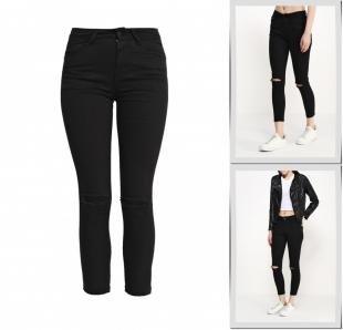 Черные джинсы, джинсы miss momo, весна-лето 2016