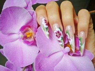 Китайский маникюр, китайская роспись ногтей