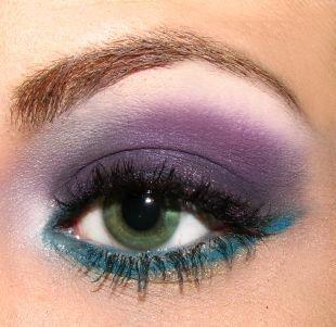 Макияж для тёмно зеленых глаз и тёмных волос, макияж для зеленых глаз