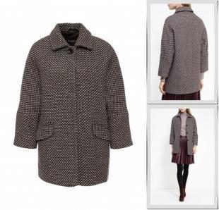 Коричневые пальто, пальто lusio, осень-зима 2016/2017