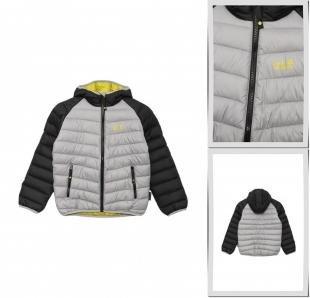 Серые куртки, куртка утепленная jack wolfskin, осень-зима 2016/2017