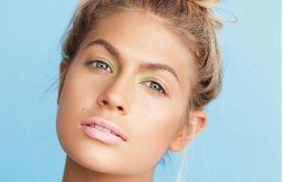 Макияж для близко посаженных глаз, пляжный макияж для светловолосых девушек