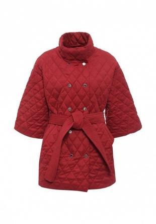 Бордовые куртки, куртка утепленная tutto bene, осень-зима 2016/2017