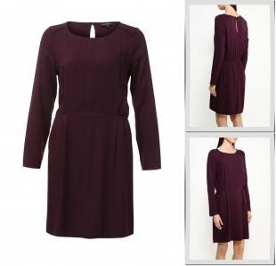 Фиолетовые платья, платье broadway, осень-зима 2016/2017