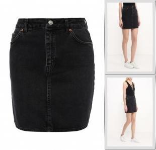 Джинсовые юбки, юбка джинсовая topshop, весна-лето 2016