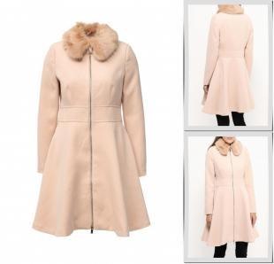 Розовые пальто, пальто rinascimento, осень-зима 2016/2017