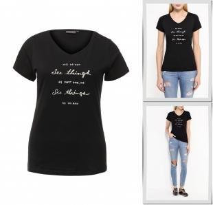 Черные футболки, футболка broadway, осень-зима 2016/2017