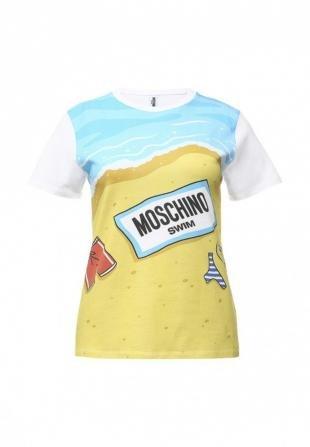Разноцветные футболки, футболка moschino, весна-лето 2016