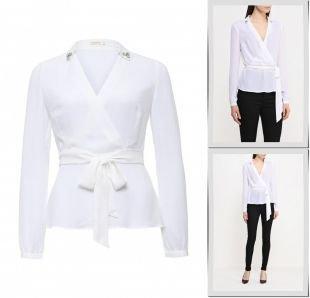 Белые блузки, блуза zarina, весна-лето 2016