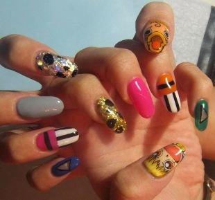 Рисунки с узорами на ногтях, необычный маникюр - разнообразие вариантов