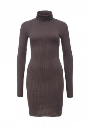Коричневые платья, платье trendyangel, осень-зима 2016/2017