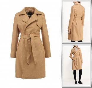 Горчичные пальто, пальто qed london, осень-зима 2015/2016