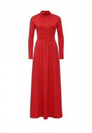 Красные платья, платье tutto bene, осень-зима 2016/2017