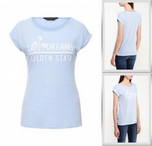 Голубые футболки, футболка dorothy perkins, осень-зима 2016/2017