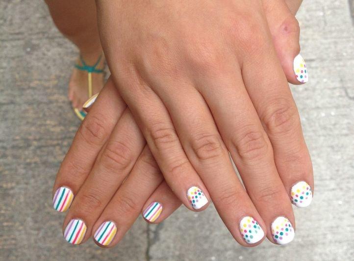 Фото дизайнов ногтей лето 2014
