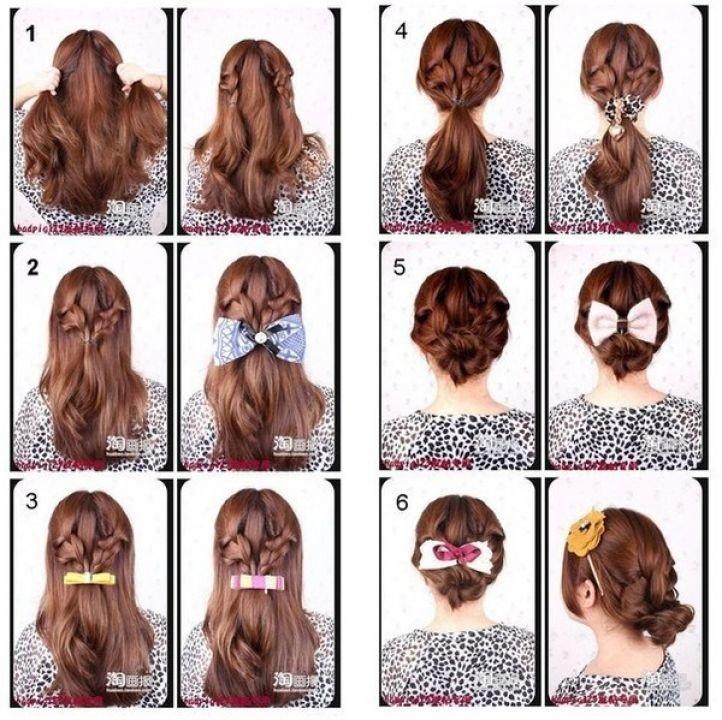 Прически для волос длинных волос на каждый день
