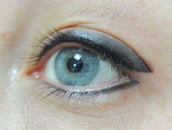 Татуаж глаз - тени